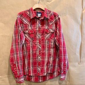 Wrangler Men's Western Shirt SZ XL